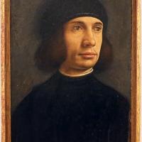 Filippo mazzola (attr.), ritratto d'uomo, 1480-1500 ca - Sailko - Modena (MO)