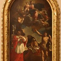 Flaminio torri, madonna in gloria coi ss. carlo borromeo, g. battista, girolamo e nicola da tolentino, 1645 ca - Sailko - Modena (MO)