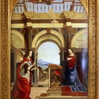 Francesco bianchi ferrari e giovanni antonio scacceri, annunciazione, 1506-12, 01 - Sailko - Modena (MO)