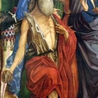 Francesco bianchi ferrari, crocifissione coi ss. girolamo e francesco (pala delle tre croci), 1490-95 ca. 04 girolamo - Sailko - Modena (MO)