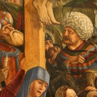 Francesco bianchi ferrari, crocifissione coi ss. girolamo e francesco (pala delle tre croci), 1490-95 ca. 06 - Sailko - Modena (MO)