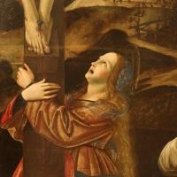 Francesco bianchi ferrari, crocifissione coi ss. maddalena, domenico e pietro martire, 1500-10 ca. 03 - Sailko - Modena (MO)