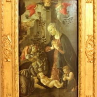 Francesco botticini, adorazione del bambino, 1470-80 ca. 01 - Sailko - Modena (MO)