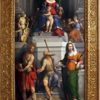 Garofalo, madonna col bambino in trono, angeli e santi, 1533, 01 - Sailko - Modena (MO)