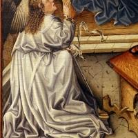 Germania meridionale, annunciazione, ss. margherita e dorotea, visitazione, 1450 ca. 02 - Sailko - Modena (MO)
