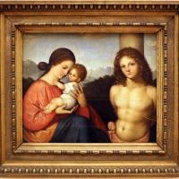 Giovanni agostino da lodi, madonna col bambino e san sebastiano, 1500-10 ca. 01 - Sailko - Modena (MO)