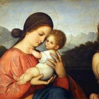 Giovanni agostino da lodi, madonna col bambino e san sebastiano, 1500-10 ca. 02 - Sailko - Modena (MO)