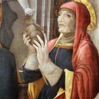 Giovanni antonio bazzi, madonna col bambino e santi, 1480-1500 ca. 03 anna - Sailko - Modena (MO)