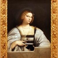Giovanni cariani, ritratto di donna detta violante, 1515-20 ca. 01 - Sailko - Modena (MO)