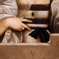 Giovanni cariani, ritratto di donna detta violante, 1515-20 ca. 02 - Sailko - Modena (MO)