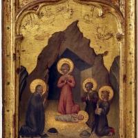 Giovanni di paolo, adorazione del bambino, 1430-40 ca - Sailko - Modena (MO)