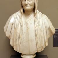 Girolamo campagna (attr.), busto di vecchia, 1600 ca - Sailko - Modena (MO)