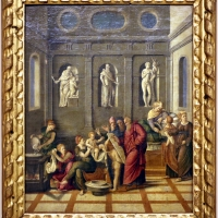 Girolamo da santacroce, nascita del battista, 1535-55 ca - Sailko - Modena (MO)