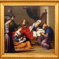 Giuliano bugiardini, nascita del battista, 1517-18, 01 - Sailko - Modena (MO)