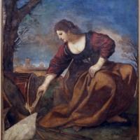 Guercino, allegoria della pace che brucia gli strumenti della guierra, 1626-27 ca - Sailko - Modena (MO)