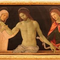 Italia centrale, cristo in pietà tra i dolenti, 1480-1500 ca - Sailko - Modena (MO)