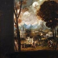 Jacopone da faenza, giuditta con la testa di oloferne, 02 paesaggio - Sailko - Modena (MO)