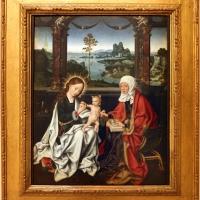 Joos van cleve, madonna col bambino e sant'anna, 1516 ca - Sailko - Modena (MO)