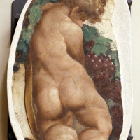 Leolio orsi, frammenti di affreschi dalla rocca di novellara, 1555-56 ca., 01 putto - Sailko - Modena (MO)