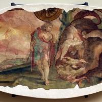 Leolio orsi, frammenti di affreschi dalla rocca di novellara, 1555-56 ca., 07 cadmo e il drago - Sailko - Modena (MO)