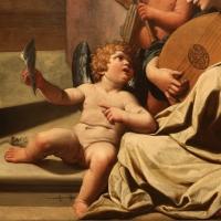 Leonello spada, visione di san francesco d'assisi, 1617-18, 04 angioletto cantore - Sailko - Modena (MO)