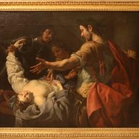 Luca ferrari, la regina tomiri fa immergre la nel sangue la testa di ciro, 1644-49 - Sailko - Modena (MO)