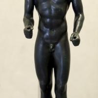 Manifattura corinzia o magno-greca, kouros, 490 ac ca - Sailko - Modena (MO)