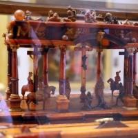 Manifattura tedesca, stipo in legno, ottone, vetro, ambra e avorio, 1625 ca. 05 - Sailko - Modena (MO)