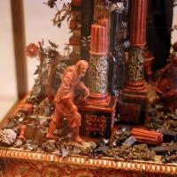 Manifattura trapanese, presepe in corallo, argento, legno e metallo dorato, xviii secolo, 02 - Sailko - Modena (MO)