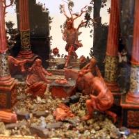 Manifattura trapanese, presepe in corallo, argento, legno e metallo dorato, xviii secolo, 03 - Sailko - Modena (MO)