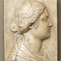 Manifattura veneziana, testa femminile, 1510 ca - Sailko - Modena (MO)