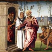 Marco meloni (attr.), storie di abramo, 1504, 02 - Sailko - Modena (MO)