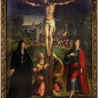 Niccolò dell'abate, crocifissione, 1539 ca. 01 - Sailko - Modena (MO)