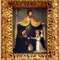 Niccolò dell'abate, san placido accoglie sotto il piviale le monache di sant'eufemia, 1529-36 ca - Sailko - Modena (MO)