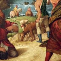 Polidoro da lanciano, adorazione dei magi, 03 cani - Sailko - Modena (MO)