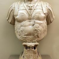 Prospero sogari spani detto il clemente, busto del duca ercole II d'este con base con allegoria della pazienza, 1554, 02 - Sailko - Modena (MO)