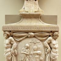 Prospero sogari spani detto il clemente, busto del duca ercole II d'este con base con allegoria della pazienza, 1554, 03 - Sailko - Modena (MO)
