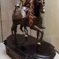 Ritratto equestre del duca francesco II d'este, in legno, osso, madreperla e osso, 1680-90 ca - Sailko - Modena (MO)