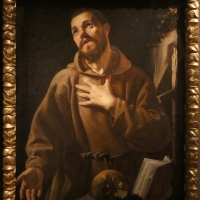 Scuola caravaggesca, san francesco orante, 1610-30 ca - Sailko - Modena (MO)