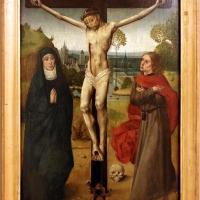Scuola fiamminga, crocifissione, 1470-90 ca - Sailko - Modena (MO)