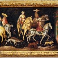 Secondo maestro di carpi, leggenda di san giovanni boccadoro (crisostomo), 1430 ca. 01 - Sailko - Modena (MO)