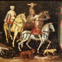 Secondo maestro di carpi, leggenda di san giovanni boccadoro (crisostomo), 1430 ca. 08 - Sailko - Modena (MO)