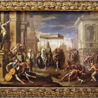 Sigismondo caula, un miracolo di sant'ambrogio, 1670-75 - Sailko - Modena (MO)
