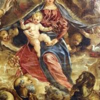 Tintoretto, madonna col bambino coi ss. caterina d'a., scolastica, pietro, agostino, battista e paolo, 1547-49 ca. 02 - Sailko - Modena (MO)