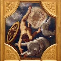 Tintoretto, tavole per un soffitto a palazzo pisani in san paterniano a venezia, 1541-42, caduta di fetonte - Sailko - Modena (MO)