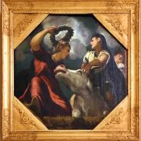 Tintoretto, tavole per un soffitto a palazzo pisani in san paterniano a venezia, 1541-42, giove ed europa - Sailko - Modena (MO)