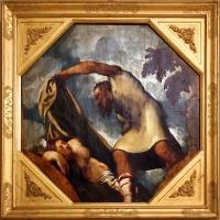 Tintoretto, tavole per un soffitto a palazzo pisani in san paterniano a venezia, 1541-42, priapo insidia lotide addormentata - Sailko - Modena (MO)