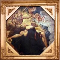 Tintoretto, tavole per un soffitto a palazzo pisani in san paterniano a venezia, 1541-42, semele incenerita da giove - Sailko - Modena (MO)