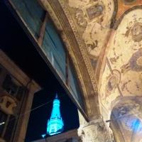 Scorcio di Ghirlandina con affresco - Giacomo V. Armellino - Modena (MO)