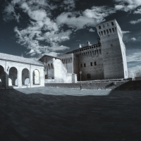 Castello di Vignola - Infrarosso 720nm - Quart1984 - Vignola (MO)